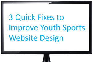 how to improve youth sports website