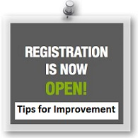 Tips for improving sports registration